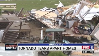 'We Just Started Praying': Man Recounts Moments Tornado Tore Through North  Carolina Town