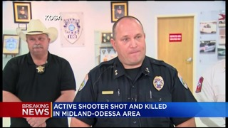 Police: 5 dead, 21 injured in Odessa and Midland, Texas
