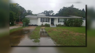 Florida woman wrapping home in plastic ahead of Hurricane Dorian